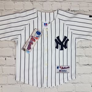 RARE MLB Authentic New York Yankees Toddler Jersey
